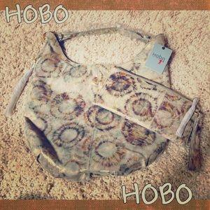 NWT HOBO handbag with matching makeup pouch